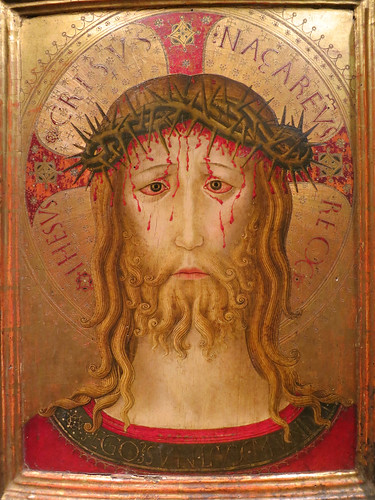 Benedotto Bonfigli, Perugia, c. 1410-1496, Christ Crowned with Thorns, c. 1455