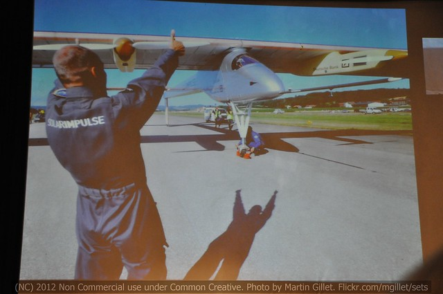 Solarimpulse - Thumbs Up !