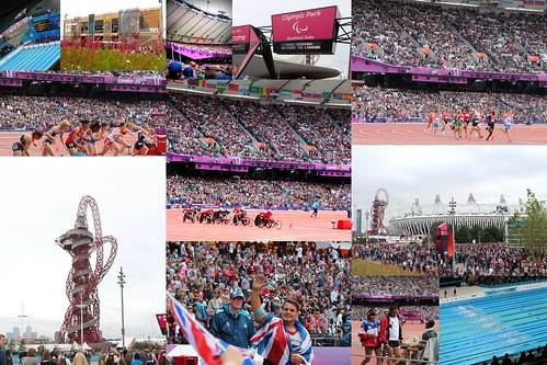 Paralympics 2012 Collage
