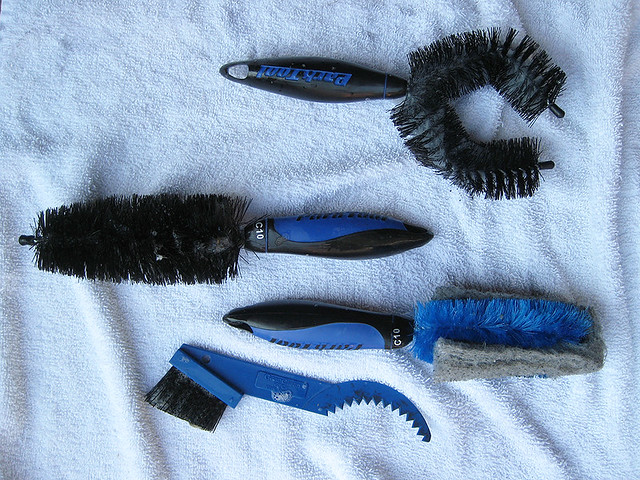 Bike Cleaning Tools