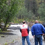 Flooding response in Alaska