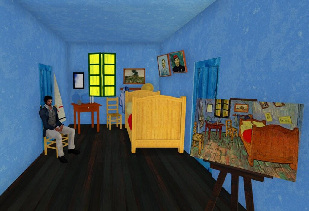 Arles: Vincent's Bedroom