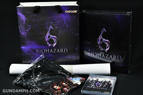 Resident Evil 6 Special Pack Jacket & Shirt PS3 Philippines Release (2)