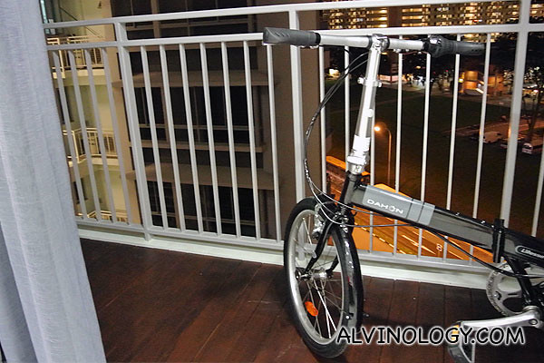 My foldable bike