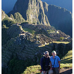 Dave and Jenn at Machu Picchu