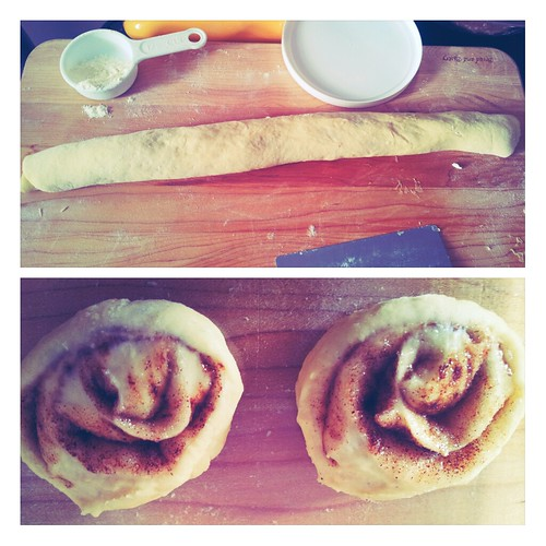 Cinnamon Roll Dough