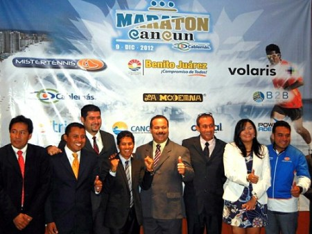 Conferencia de prensa Maratón Cancún 2012