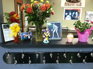 Sports Center Tribute Desk