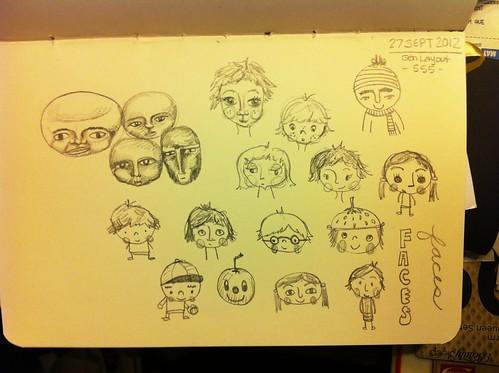Sketchbook page 09.27.12