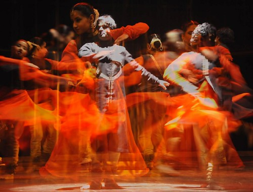 Kathak - 'Colors of Fire' - My photographic interpretation of Choreography by Vidha Lal and Abhimanyu Lal