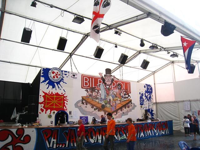 Barraca en Aste Nagusia Bilbao 2012