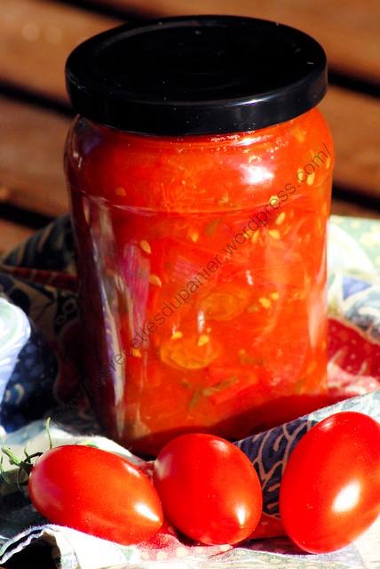 Chutney de tomates / Tomato Chutney