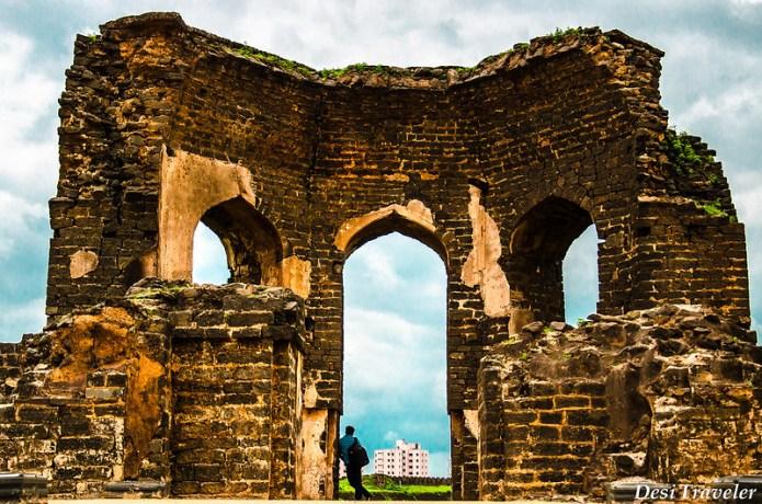 ruins of bidar fort