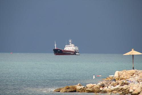 Random ship in Bari