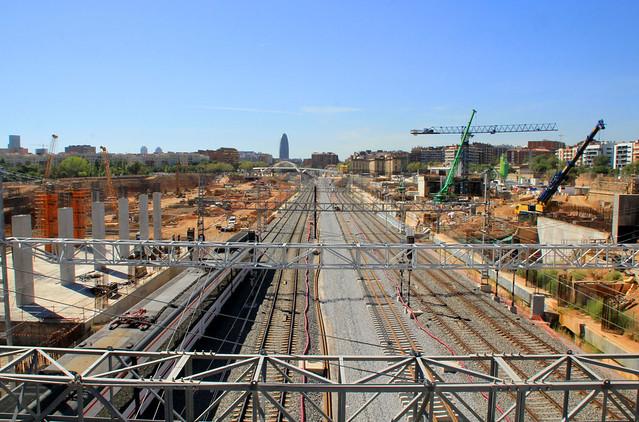 Zona puente trabajo - vías del AVE - 14-09-12