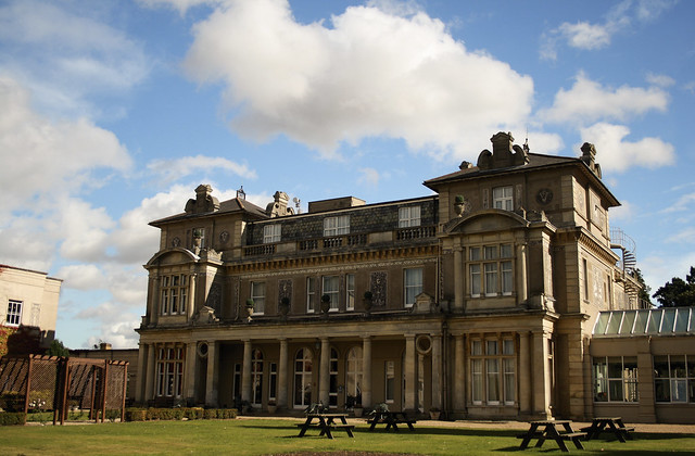 Down Hall Country House Hotel - Rear View