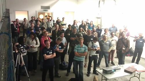 Maker night crowd