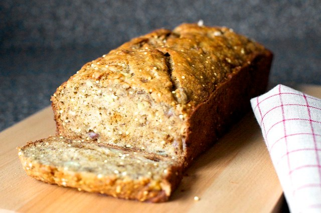 banana bread like bubble wrap