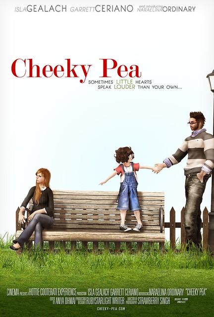 Cheeky Pea - Cinema Poster
