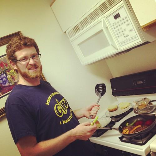 I love having a domestic husband!