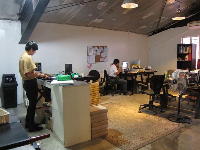 Rogue magazine office