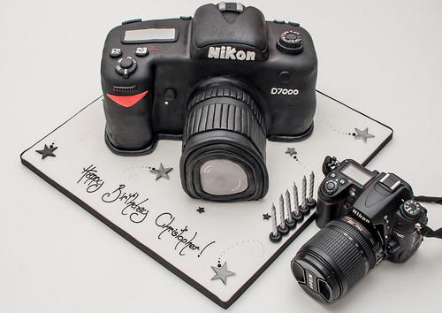 Birthday Cake D7000 Size Comparison