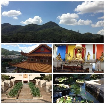 Miu Fat Monastery Scenery