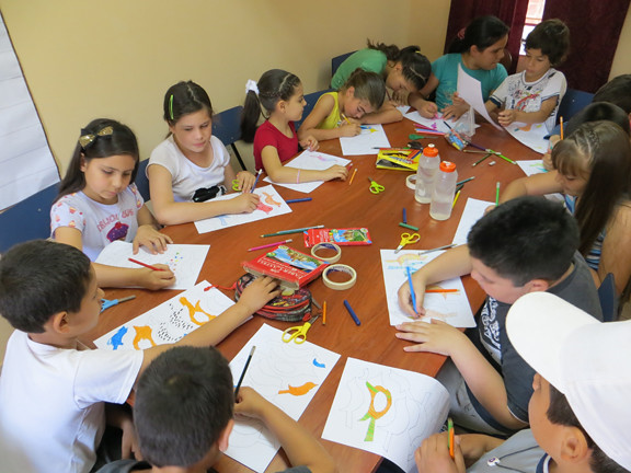 coloring mobiles