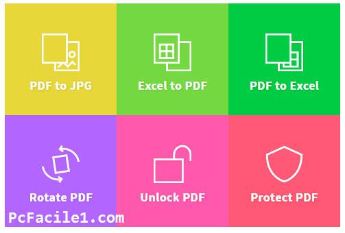 القيام بمختلف العمليات على ملفات Pdf أون لاين عن طريق موقع Smallpdf