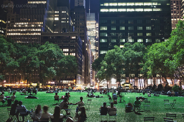 new york public library - bryant park