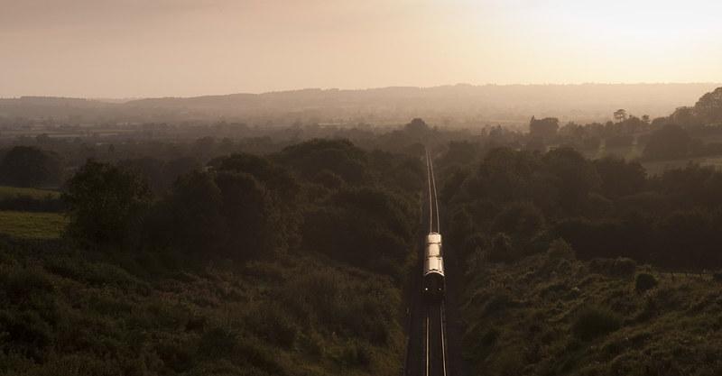 Train at Buckhorn Weston