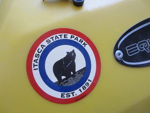 sticker for my kayak