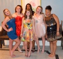 8th Grade Girls Dance Barefoot