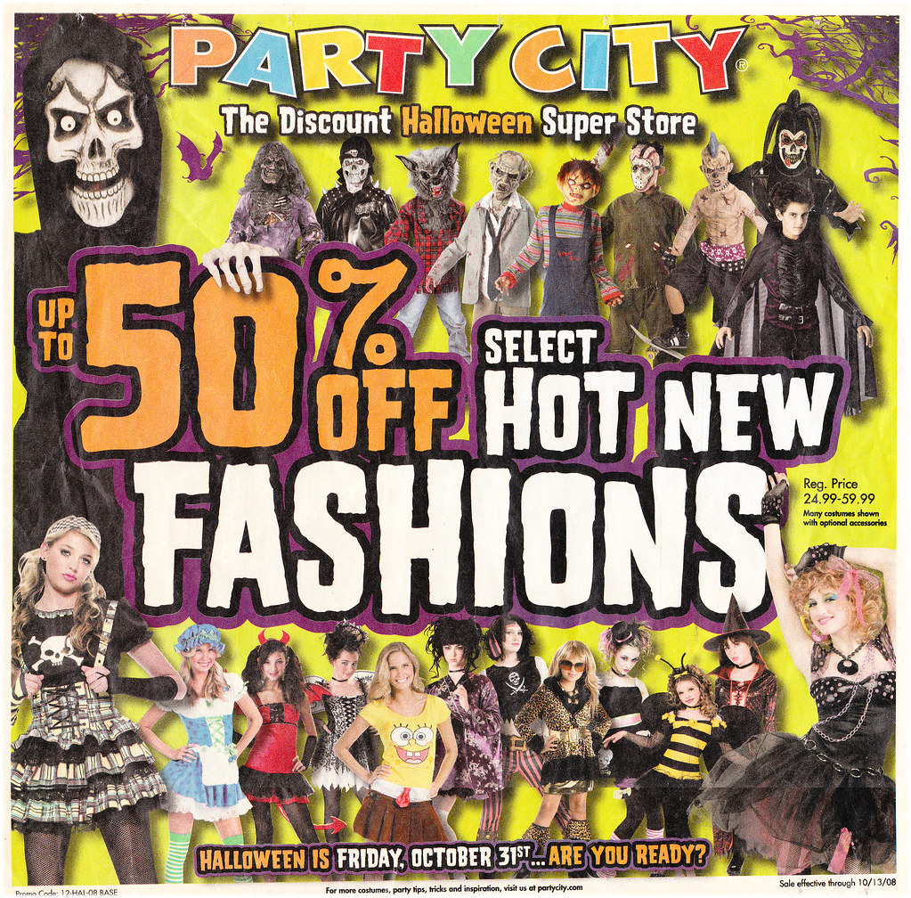 Party City 2008 flyer