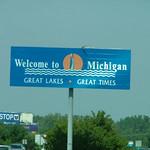 Michigan border