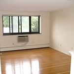 After: Empty, clean apartment in Watertown
