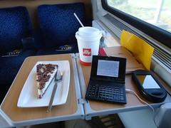 Office in train
