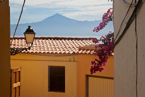 View to Teide on Tenerife