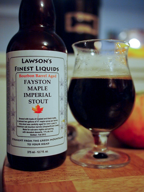 Lawsons Finest Bourbon Barrel Aged Fayston Maple Imperial Stout