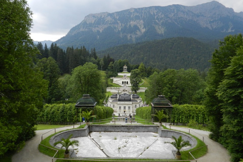 Linderhof Palacio Baviera Alemania 09