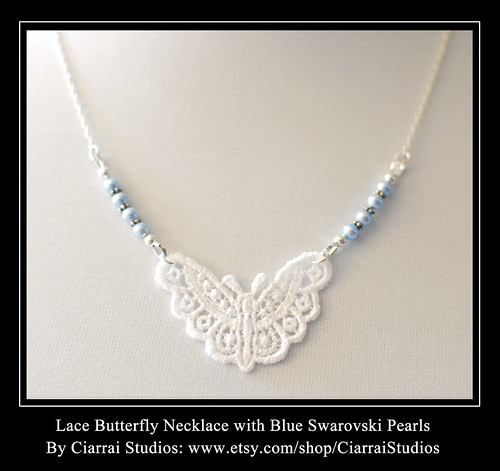 Blue Lace Butterfly 2