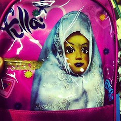 Girls' backpack graphic
