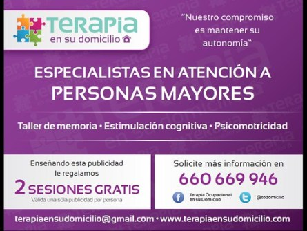 Terapia a domicilio Madrid