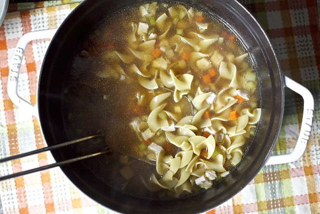 chicken noodle soup, my way