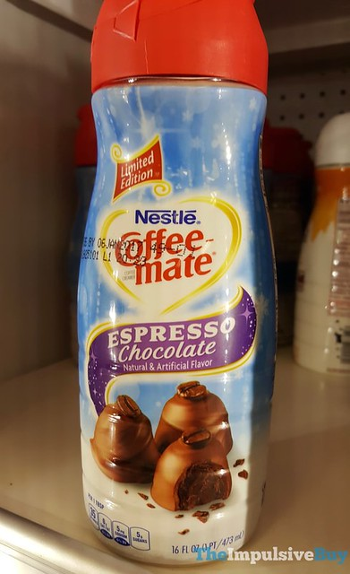 Limited Edition Nestle Coffee-mate Espresso Chocolate