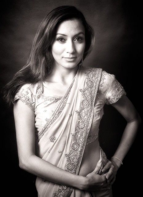 Shreeti in Black and White