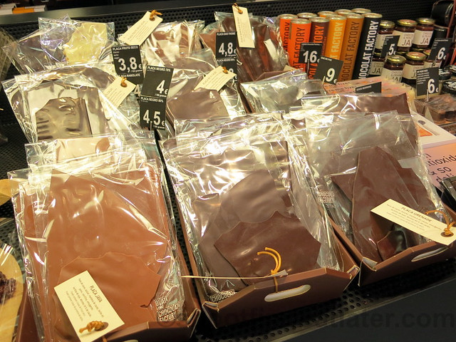 supermarket in San Sebastian- chocolates