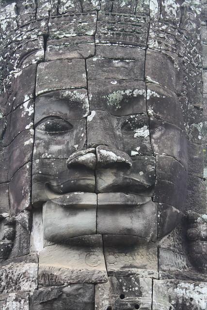 Bayon Face in Angkor