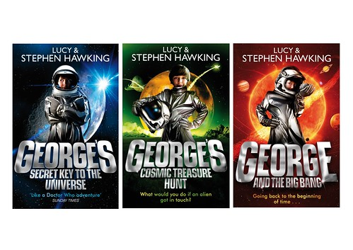 Lucy and Stephen Hawking, George trilogy