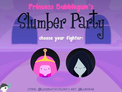 princess bubblegum's slumber party